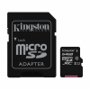 Kingston Memory card with adapter Kingston CANVAS SDCS/64GB (64 GB; Class 10; Adapter)