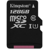 Kingston Micro Canvas Reacht UHS-I 128GB memóriakártya (SDCR/128GBSP)