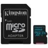Kingston MICRO SD Kingston 128GB Canvas Go! UHS-I U3 CL10 + Adapter (SDCG2/128GB)