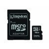 Kingston MicroSDHC 16GB CLASS 4 (SDC4/16GB) Memóriakártya + Adapter