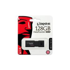 """Kingston Pendrive, 128GB, USB 3.0,  """"DT100 G3"""", fekete pendrive"""