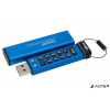 "Kingston Pendrive, 16GB, USB 3.0, Keypad, KINGSTON ""DT2000"", kék"