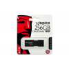 "Kingston Pendrive, 256GB, USB 3.0,  ""DT100 G3"", fekete"