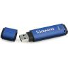 """Kingston Pendrive, 4GB, USB 3.0, 80/12MB/s, titkosítással,  """"DTVP 3.0 Management Ready"""", kék"""