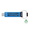 Kingston Pendrive 64GB, DT2000 USB 3.0, 256bit AES, Keypad (DT2000/64GB)