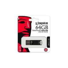 """Kingston Pendrive, 64GB, USB 3.1, 180/70MB/s, vízálló, KINGSTON """"DataTraveler Elite G2"""", fekete pendrive"""