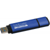 "Kingston Pendrive, 8GB, USB 3.0, titkosítás, KINGSTON ""DTVP30AV"", kék"