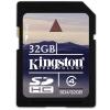 Kingston SDHC 32GB Class 4