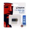 Kingston USB 2.0 Micro SD kártyaolvasó fekete Gen 2