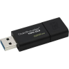 Kingston USB PENDRIVE KINGSTON 128GB DT100 G3 3.1 FEKETE SLIDER