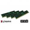 Kingston ValueRAM 16GB DDR4-2133 Quad-Kit Registered KVR21R15S8K4/16