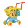 Kis bevásárlókocsim - sárga-kék