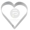 Kiszúró forma - közepes szív
