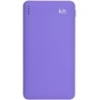 Kit KWPWRFRESH12PU Power Bank Fresh 12000 mAh lila
