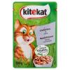 Kitekat teljes értékű állateledel felnőtt macskák számára borjúhússal ízletes mártásban 100 g