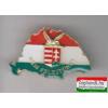 Kitűző - NagyMagyarország, turulos címerrel