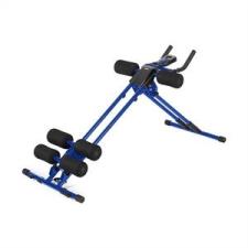 KLARFIT Klarfit AB Cruncher, kék, hasizom-erősítő gép edzőpad