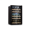 Klarstein Barossa 40D, borhűtő, 2 zóna, 135 l, 41 palack, üvegajtó, érintős