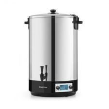 Klarstein Beersafe M Onyx, hűtőszekrény, A+, LED, 2 fém rács, üvegajtó, ónix elektromos főzőedény