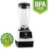 Klarstein Herakles 2G-W asztali mixer 1200 W, zöld smoothie, 2 liter, BPA nélkül