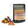 Klarstein Klarstein Fruitcube szárítógép, 550 W, 10 emelet, fekete/fehér