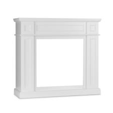 Klarstein Lausanne Frame kandalló keret, MDF, klasszikus dizájn, fehér kályha, kandalló