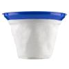 Klarstein szűrőzsák, tartozék száraz-nedves porszívóhoz, textil filter tasak, Ø35cm