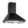 Klarstein Victoria, páraelszívó, retró dizájn, 600m³/h, 2 LED lámpa, fekete