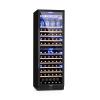 Klarstein Vinovilla Onyx Grande Duo, borhűtő, 425 l, 165 palack, 3 szín, fekete