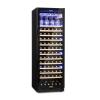 Klarstein Vinovilla Onyx Grande, nagykapacitású borhűtő, 433 l, 165 palack, fekete