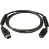 Klotz FireWire kábel, 4,5m 4 - 6 pólusú csatlakozók