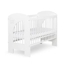 Klups NEL Felhő kiságy 60x120 - fehér kiságy, babaágy