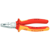 Knipex - Kombinált fogó 180mm krómozott, PVC bevonat 1000V-ig