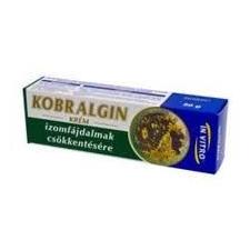 KOBRALGIN KRÉM 50 g táplálékkiegészítő