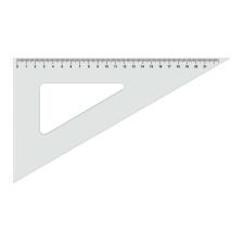 KOH-I-NOOR Vonalzó Gama 45fok átlátszó 744150 7250086000 vonalzó