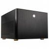 Kolink Satellite Plus mATX / ITX Számítógépház - Fekete (SATELLITE PLUS)