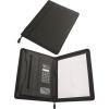 . Konferencia mappa, A4, műbőr, számológéppel, fekete (IKS1132)