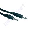 Kőnig-HQ 3.5mm stereo jack dugó - 3.5mm stereo jack dugó hosszabbító kábel CABLE-404/10