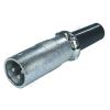 Kőnig-HQ 3 pólusú fém XLR lengődugó XLR-3MCL