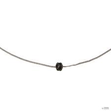 Konplott nyaklánc ékszer Collier Disco Balls Fekete Jet nyaklánc