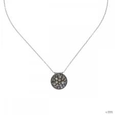 Konplott nyaklánc ékszer Collier Orchid Hybrid fehér köves moonlight ezüst nyaklánc