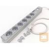 Kontaset DI-STRIP Compact hálózati elosztó 6db aljzattal, kapcsolóval