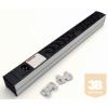 Kontaset DI-STRIP IEC320 hálózati elosztó 10db aljzattal, kapcsoló nélkül