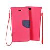 KORACELL Flexi color book tok - Huawei Ascend Y635 - rózsaszín - sötétkék