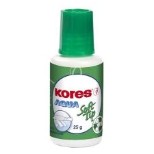 """KORES Hibajavító folyadék, vízbázisú, szivacsos, 20 ml, KORES """"Aqua Soft Tip"""" hibajavító"""