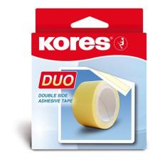 """KORES Ragasztószalag, kétoldalas, 30 mm x 5 m,  """"Duo"""" ragasztószalag"""