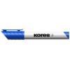 """KORES Tábla- és flipchart marker, 1-3 mm, kúpos, KORES \""""Marka\"""", kék"""