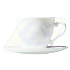 Korona 13400070 Cadix csésze aljjal tányér és evőeszköz