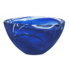 Kosta Boda CONTRAST BLUE BOWL D 160MM