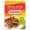 Kotányi görög sültek gyros fűszerkeverék 35 g